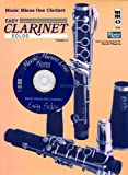 img - for Music Minus One Clarinet: Easy Clarinet Solos, Vol. II: Student Level (Book & CD) book / textbook / text book