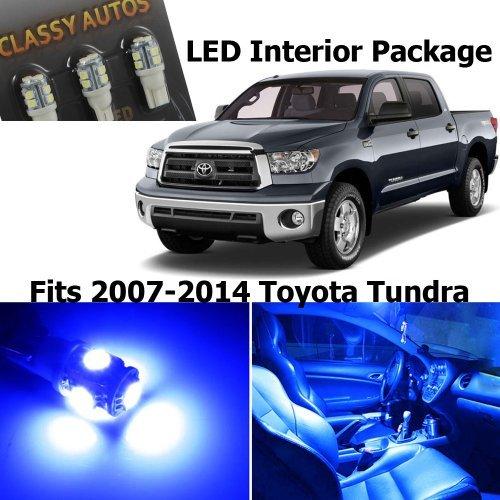 Classy Autos Toyota Tundra BLUE Interior LED