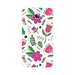 Fusion Gear Flowers Pattern Case for Samsung Galaxy J7