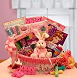 Disney Sweets and Activities Easter Basket for Girls -Pink