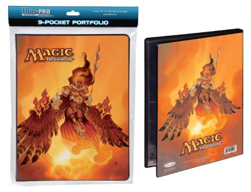 Ultra Pro The Magic the Gathering (MTG) Akroma, Angel of Fury - Combo Portfolio Album (9 Pocket Trading Card Binder) - 1