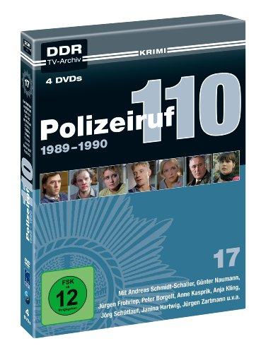 Polizeiruf 110 - Box 17: 1989-1990 (DDR TV-Archiv - 4 DVDs)