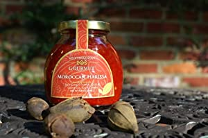 Meditterranean Gourmet Moroccan Harissa (All Natural red chili pepper, garlic, olive oil, salt, cumin)