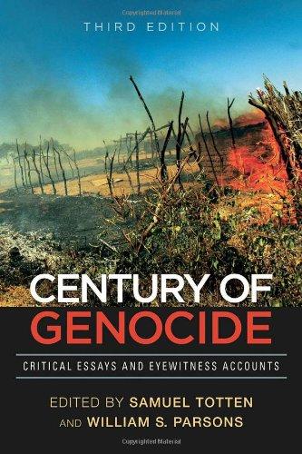 account century critical essay eyewitness genocide