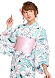 20タイプから浴衣が選べる2016浴衣福袋 浴衣セット [浴衣+半幅帯+下駄] 3点セット