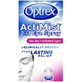 Optrex ActiMist 2-in-1 Dry Plus Irritated Eye Spray - 10 ml