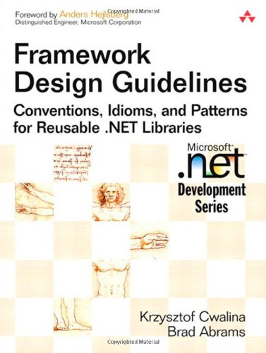 Cheapest copy of Framework Design Guidelines: Conventions