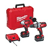 Milwaukee Milwaukee HD18PP2A Heavy Duty Twin Pack 18V