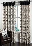 Ring Top Eyelet 'Laurel' Lined Curtains 66