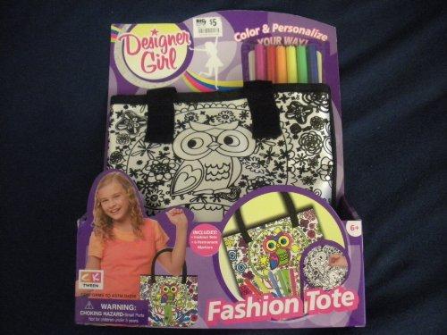 Designer Girl Fashion Tote