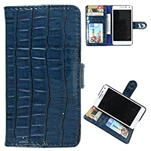DooDa PU Leather Wallet Flip Case Cover With Card & ID Slots Sony Xperia GO