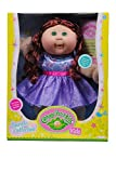 Cabbage Patch Kids Sparkle Collection Girl Red Hair Purple Dress