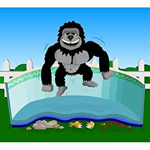 Gorilla Floor Padding for 30ft Round Above Ground Swimming Pools by Splash Net Express