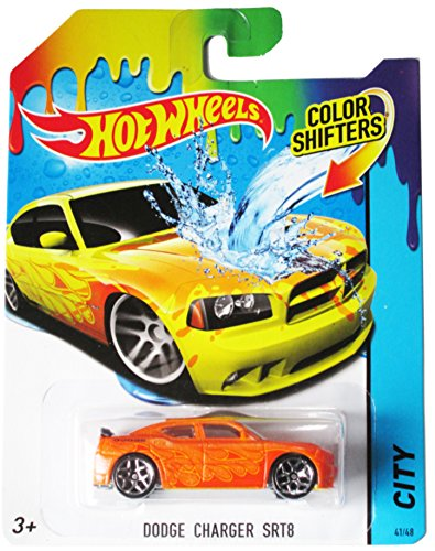 Hot Wheels City 2014 Color Shifters - Dodge Charger Srt8 41/48 - 1