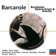 Barcarole - Ber�hmte Opern-Arien und Duette (Eloquence)