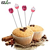 Alcoa Prime Stainless Steel Cake Tester Long Stirring Rod Long Needle Bread Testing Tool Fondant Muffin Baking...