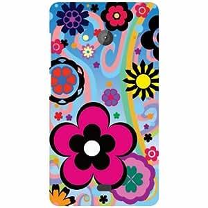 Back Cover For Microsoft Lumia 540 Dual SIM (Printed Designer)