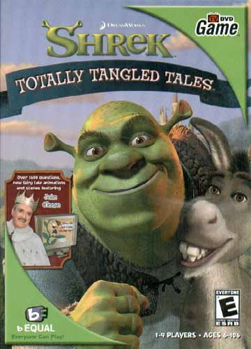 Shrek Totally Tangled Tales TV DVD game - 1