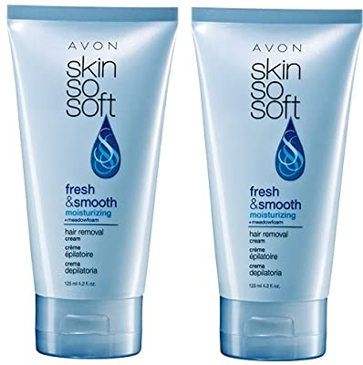 Best Cheap Deal for 2 Avon SKIN SO SOFT Fresh & Smooth Moisturizing Hair Removal Cream by Avon - Free 2 Day Shipping Available