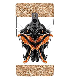 ColourCraft Scary Faces Design Back Case Cover for ONEPLUS TWO