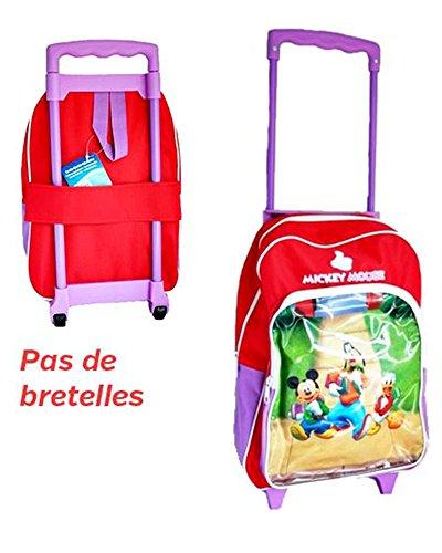 Trolley Disney per bambini Topolino Cot L308e Donald-Non di bretelle-36x 28x 10cm-di tipo Valigia per scuola primaria e tempo libero