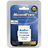 Maximal Power DB FLIP ABT2W 1100mAh Replacement Battery for Cisco (Flip)