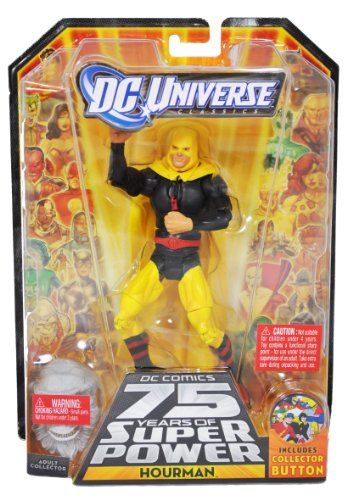 "Dc Universe ""Dc Comics 75 Years Of Super Power"" Wave 14 Classics Series 6 Inch Tall Action Figure #5 - Hourman With Ultra Humanite'S Head And Lower Torso Plus Collector Button (R5794)"