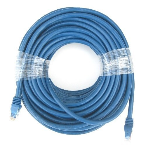 RiteAV - Cat6 Network Ethernet Cable - Blue - 50 ft.