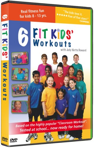 6 Kids Fitness Workouts Fit Kids [DVD] [2008] [US Import]