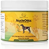 Canine Probiotic Formula with Nucleotides to Aid Digestive Health & Immune System Support in Dogs - Helps Eliminate and Prevent Acute Diarrhea and Constipation - Increases Nutrient Absorption and Enzyme Activity - Powder 60g