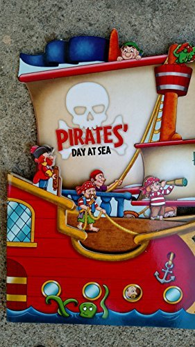 Pirates' Day at Sea Cut-out Shaped Board Book - 1