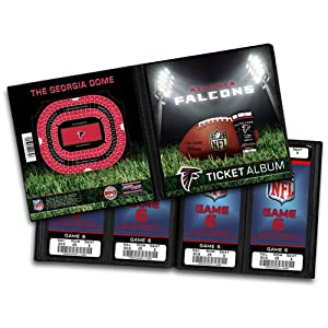 NFL Atlanta Falcons Ticket Album by That