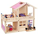 Hape - My Rooftop Garden Home Dollhouse