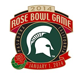 2014 Rose Bowl Game - MICHIGAN STATE Team Pin