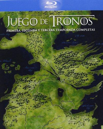 Juego De Tronos - Temporadas 1+2+3 [Digipack] [Blu-ray]