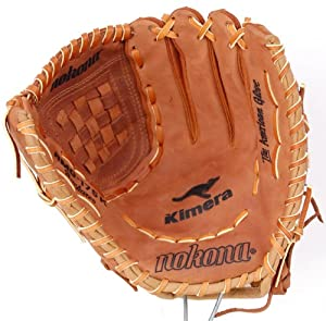 Nokona AMG175K 12-Inch Closed Web Buckaroo Hide Baseball Glove (Right-Handed Throw)
