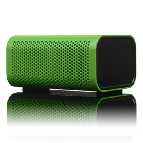 Braven 440 Water Resistant Portable Wireless Bluetooth Speaker With Powerbank (Green)