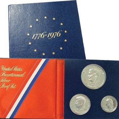 Collectors Alliance Coins 2102 U.S. Proof Set - 1976 Bicentennial - 3 pc Silver
