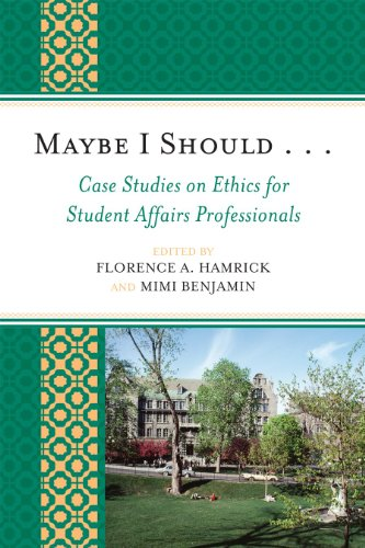 Maybe I Should. . .Case Studies on Ethics for Student...