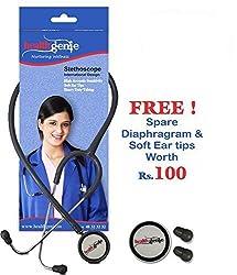 Healthgenie Dual Child Pediatric Stethoscope AL HG-206G (Grey)...