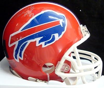 "Thurman Thomas Autographed Buffalo Bills Mini Helmet ""hof 07"" Psa/dna Stock #29223"