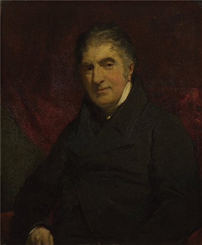 [The Polyster Canvas Of Oil Painting 'John Jackson Reverend William Holwell Carr ' ,size: 8 X 10 Inch / 20 X 25 Cm ,this Imitations Art DecorativePrints On Canvas Is Fit For Home Office Artwork And Home Artwork And] (Museum Of Country Life And Costume)