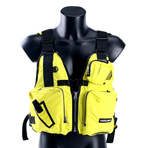 Amairne-made-Boat-Buoyancy-Aid-Sailing-Kayak-Fishing-Life-Jacket-Vest-D13-Yellow