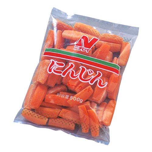 ニチレイ 冷凍野菜 にんじんシャトーキャロット 500g 冷凍