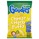 Organix Goodies Organic Cheese & Herb Puffs 15x15g