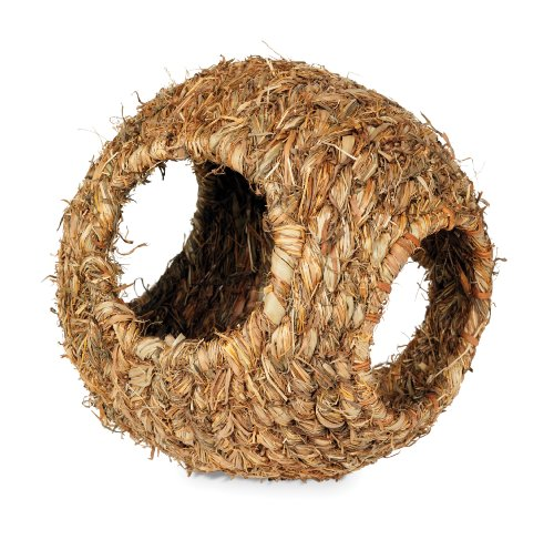 Prevue-Hendryx-1095-Natures-Hideaway-Grass-Ball-Toy-Large