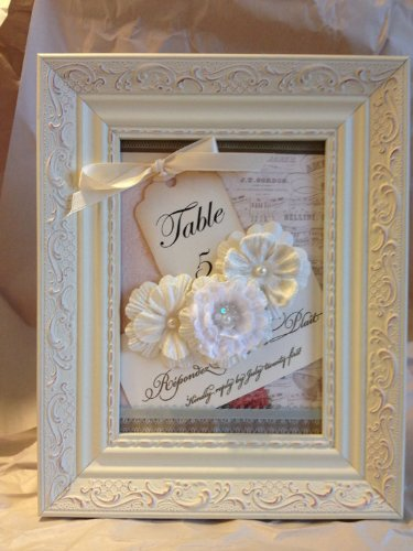 Shabby Chic Wedding Table front-887906