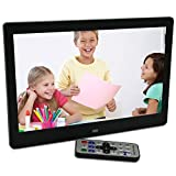 101-Inch-Hi-Res-TFT-LED-Digital-Photo-Frame-HD-Video1080P720pMusic-Playback-with-Remote-ControlCalendarClock-Support-32GB-SD-Card-Black