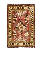 Navaei & Co. Alfombra Kazak Rojo/Multicolor 101 x 72 cm