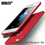 #10: Amozo® iPhone 6/6S Case - RED - All Sides Full Protection